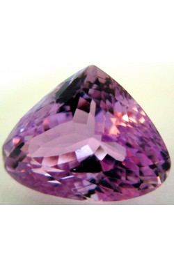 13.30 CTS TOP QUALITY PEAR UNHEATED UNTREATED NATURAL INTENSIVE PINK KUNZITE!