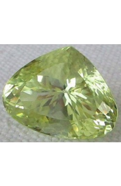 19.60 CT TOP QUALITY CANARY YELLOW UNHEATED UNTREATED NATURAL KUNZITE HIDDENITE!
