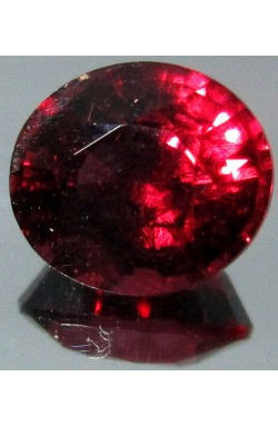 2.93 CTS OVAL SHAPE VS CLEAN PURPLE RED NATURAL UNHEATED RHODOLITE GARNET!