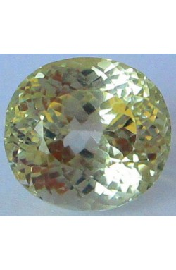 30.95 CT TOP QUALITY LIGHT YELLOW UNHEATED UNTREATED NATURAL SPODUMENE!