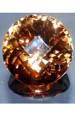 18.02 CTS ROUND SHAPE VS UNHEATED UNTREATED NATURAL CHAMPAGNE TOPAZ!