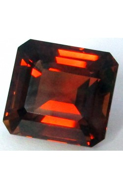 22.67 CTS OCTAGON SHAPE VVS UNHEATED UNTREATED NATURAL CHAMPAGNE TOPAZ!